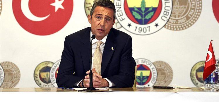 Fenerbahçe Kulübü Başkanı Ali Koç, yeniden aday olduğunu açıkladı