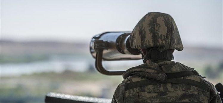 PKK/YPG'li bir terörist Kilis'te Suriye sınırında yakalandı