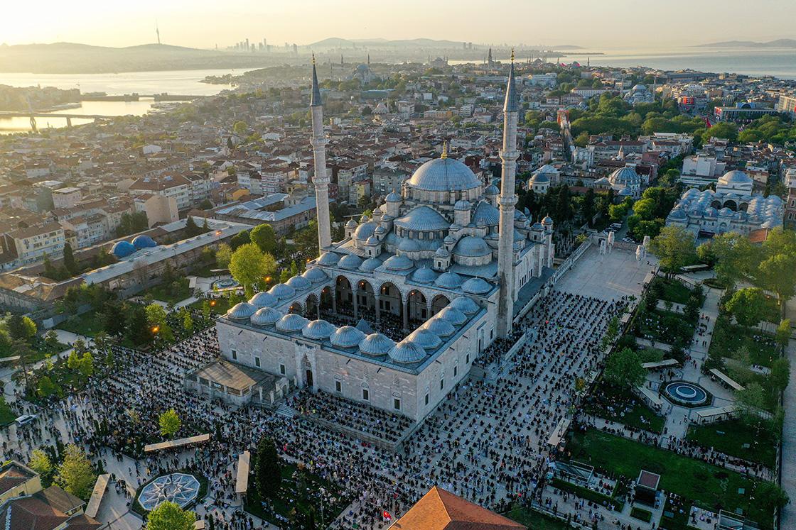 Ramazan Bayramı kutlanıyor