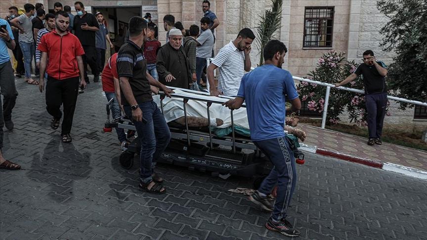 Lod kentinde İsrailli bir kişinin silahlı saldırısı sonucu yaralanan 3 Filistinliden biri şehit oldu