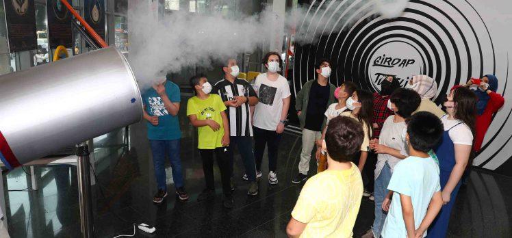 Fuat Sezgin Bilim Merkezi'ni 13 bin 465 kişi ziyaret etti