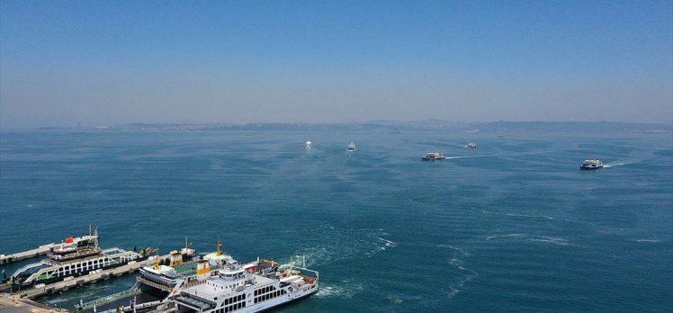 Marmara Denizi'nden 9 bin 959 metreküp müsilaj temizlendi