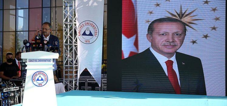 Cumhurbaşkanı Erdoğan, Kayseri'deki hastane açılış törenine telefon bağlantısıyla katıldı