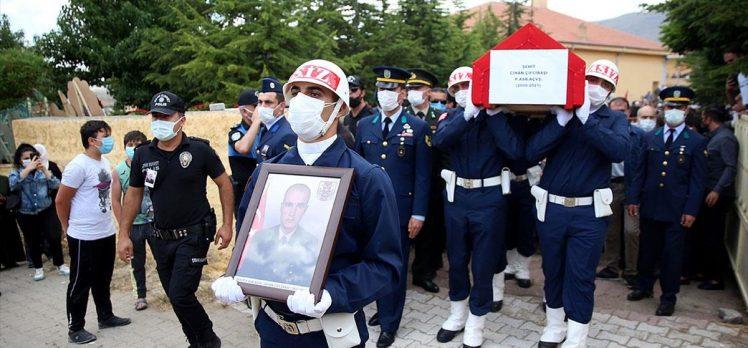 Şehit Piyade Astsubay Çifcibaşı son yolculuğuna uğurlandı