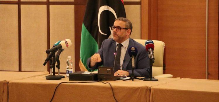 Libya Devlet Konseyi Başkanı Mişri, Libya'daki Türk güçleriyle paralı askerlerin bir tutulamayacağını belirtti
