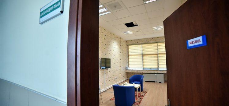 Adli görüşme odalarının sayısının yıl sonunda 140'a çıkarılması hedefleniyor