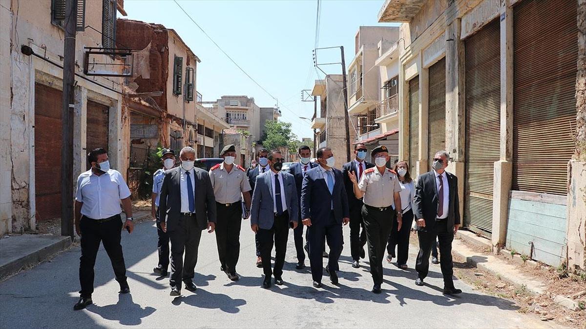 KKTC Başbakanı Saner: Kapalı Maraş'ın yüzde 3,5'lik bölümünün açılımını sağladık