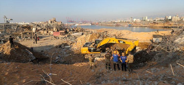 Türkiye, Beyrut Limanı'ndaki büyük patlamayla sarsılan Lübnan'ın imdadına ilk yetişenlerden oldu