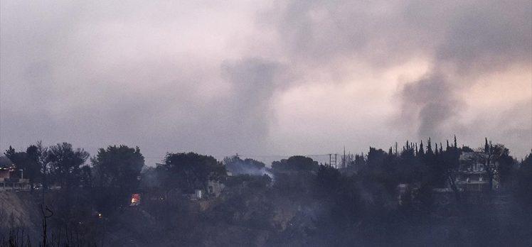 Yunanistan orman yangınlarıyla mücadele ediyor