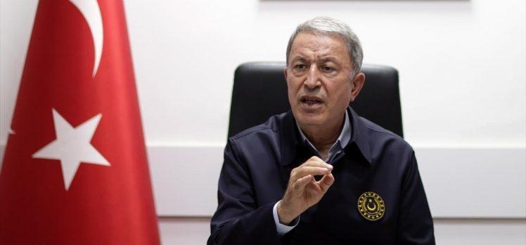 Milli Savunma Bakanı Akar: Son 24 saat içinde 22 terörist etkisiz hale getirildi