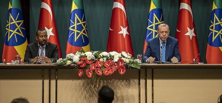 Cumhurbaşkanı Erdoğan: FETÖ'nün Etiyopya'daki tüm okulları Türkiye Maarif Vakfına devredildi