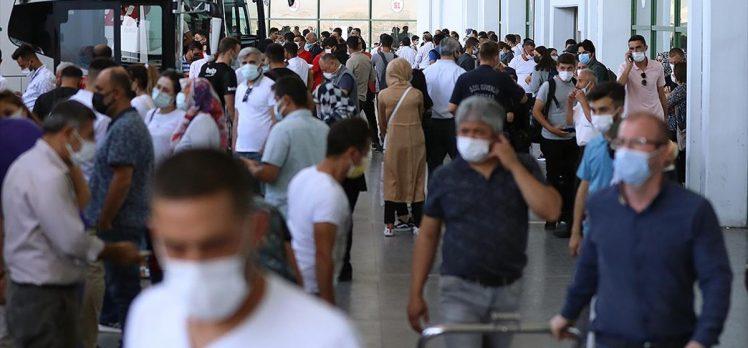 Toplu taşımada 'PCR testi zorunluluğu' 6 Eylül'de başlıyor