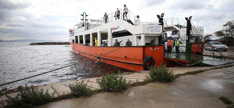 TBMM Müsilaj Sorununu Araştırma Komisyonunun Marmara Denizi'ndeki incelemeleri sürüyor