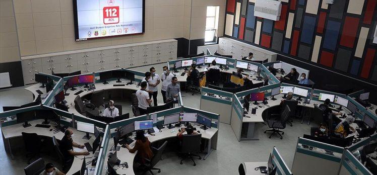 112 acil çağrı merkezleri son 3 ayda 31 milyon 964 bin çağrıyı cevapladı